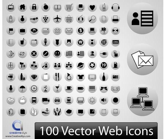 cht: Sammlung der Vektor-Icons