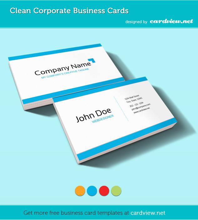 20 Freie Business Visitenkarten-Templates