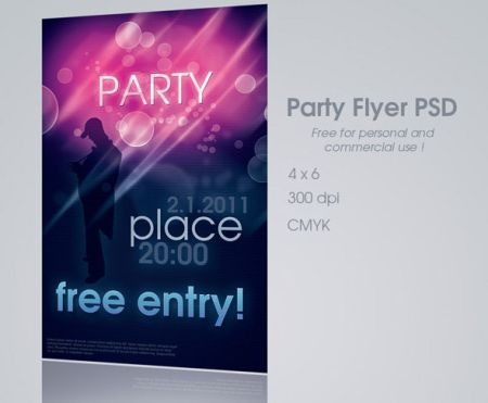 02_Party-Flyer-PSD