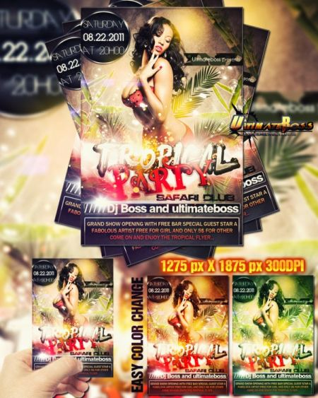 07_Freemium-tropical-party-flyer