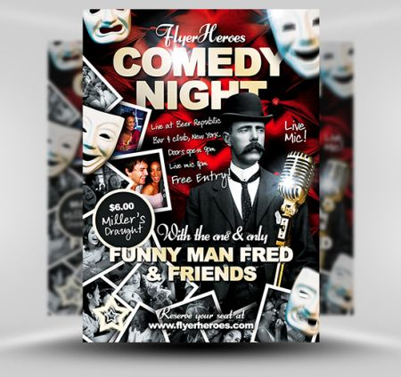 13_Comedy-Flyer-Template