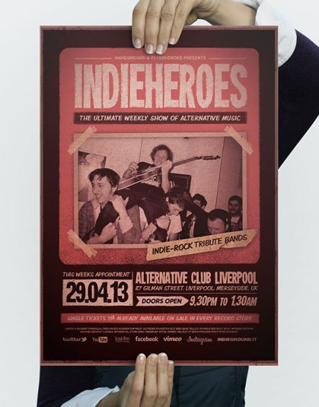 16_IndieHeroes-Flyer-Template