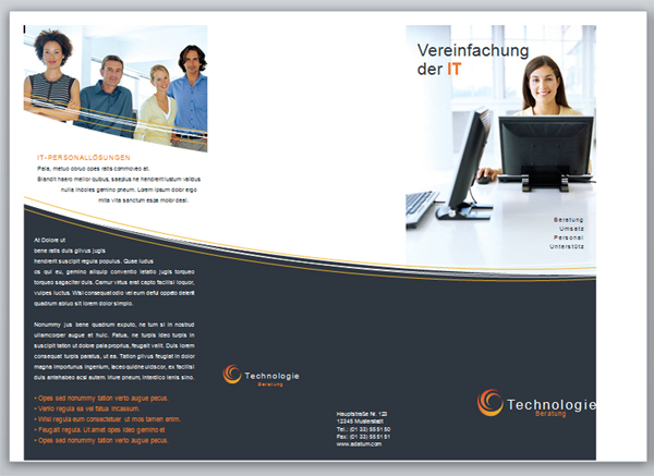 Flyer Vorlagen In Word 2010 Erstellen Und Bearbeiten Web2work De Der Webworker Blog