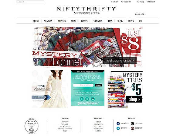 NiftyThrifty-Online Vintage Store