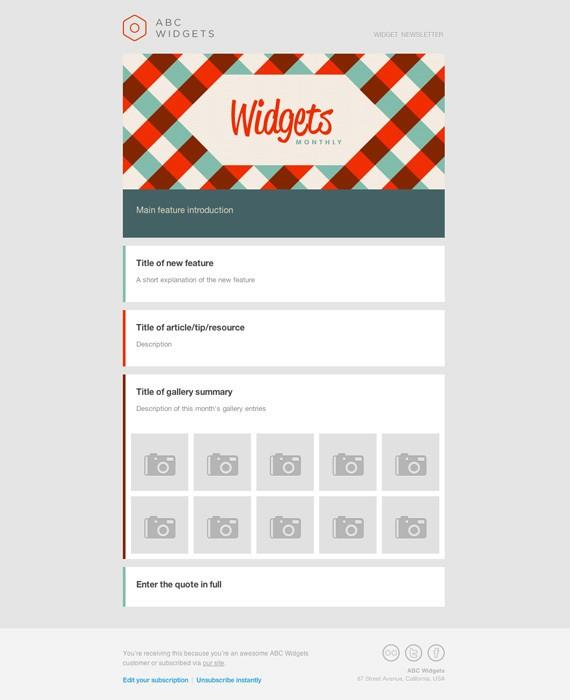 newsletter-template-19