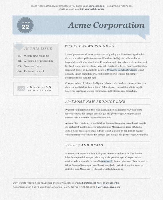 newsletter-template-23