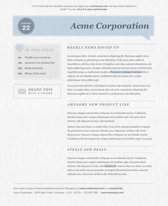 newsletter-template-23