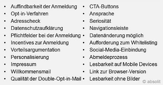 Kriterien für den Vergleich der Fluggessellschaften